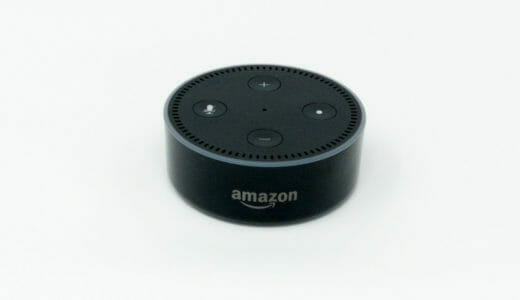 【レビュー】Amazon Echo Dot(第2世代)を購入!他社スマートスピーカーとの比較と感想