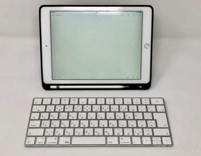 iPad-Oittmカバーとキーボード