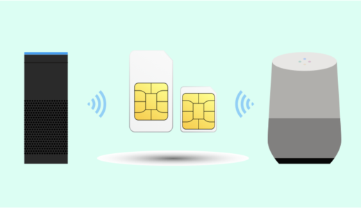 Amazon EchoやGoogle Homeを格安SIMで利用|「BIGLOBEモバイル」が最強だったので契約!