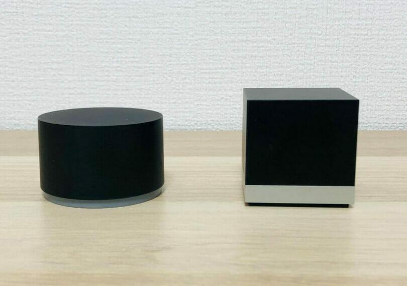 MagicDotとMagic Cube の外観比較