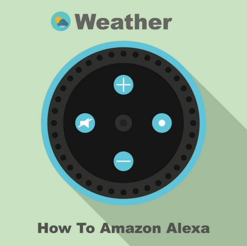 Amazon Echo 天気