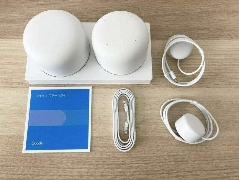 Nest Wi-Fi同梱品