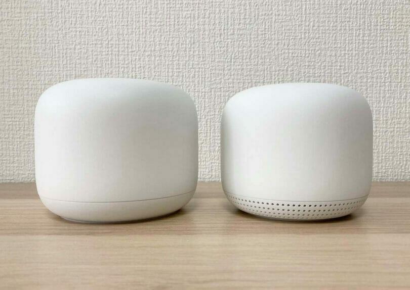 Google Nest Wi-Fi実機画像