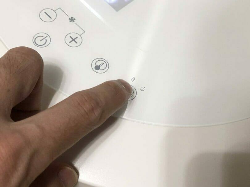 モードボタンを長押ししてWi-Fi設定