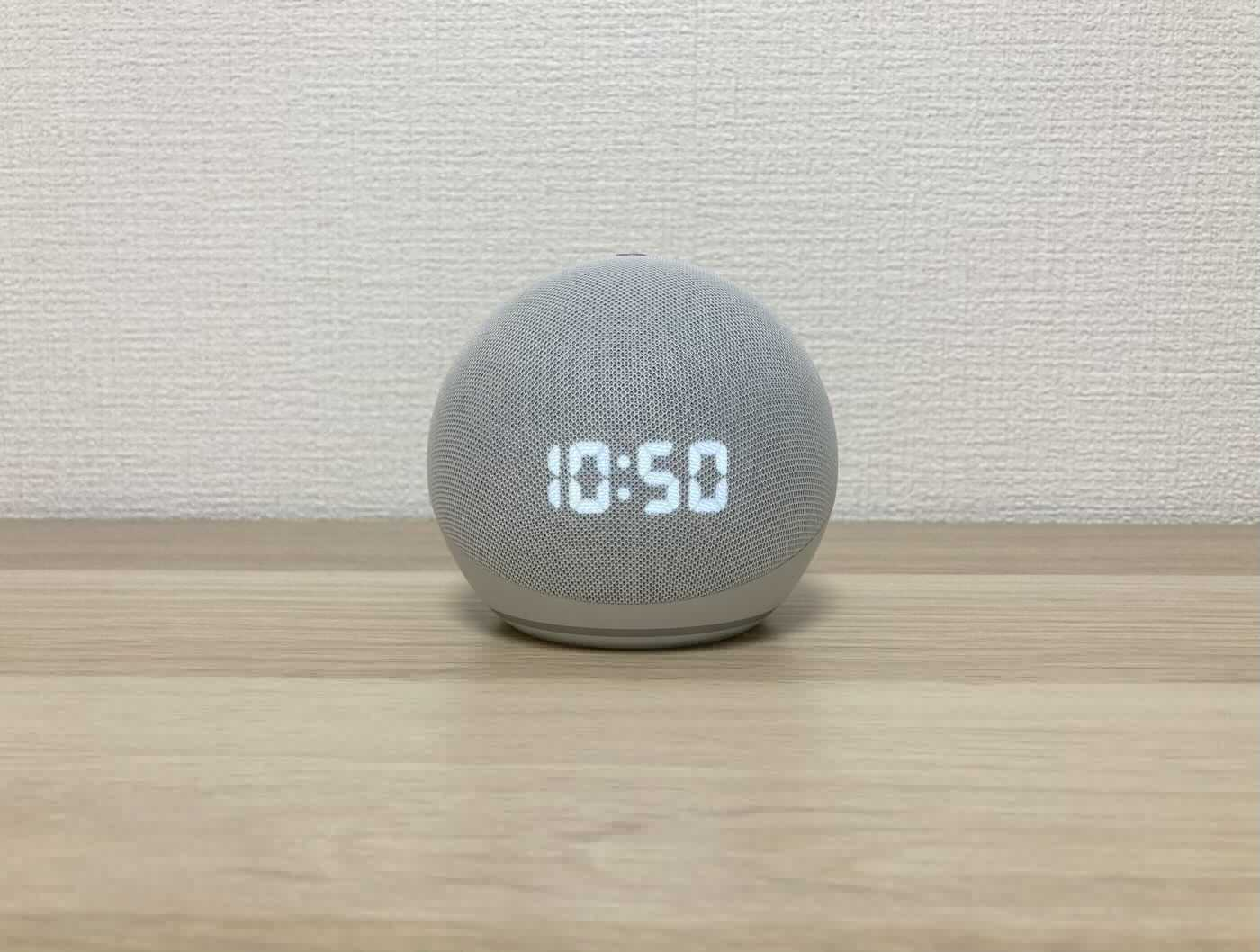 Echo Dot with clock実機画像