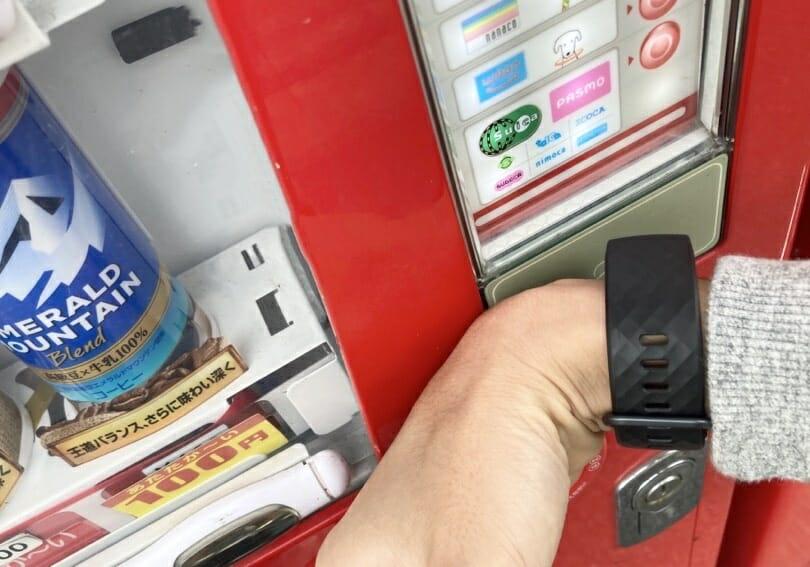 Suicaで自販機でお買い物