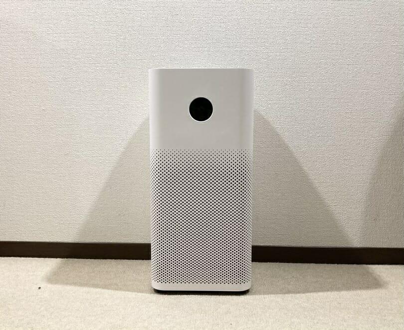 Xiaomi mi空気清浄機 実機