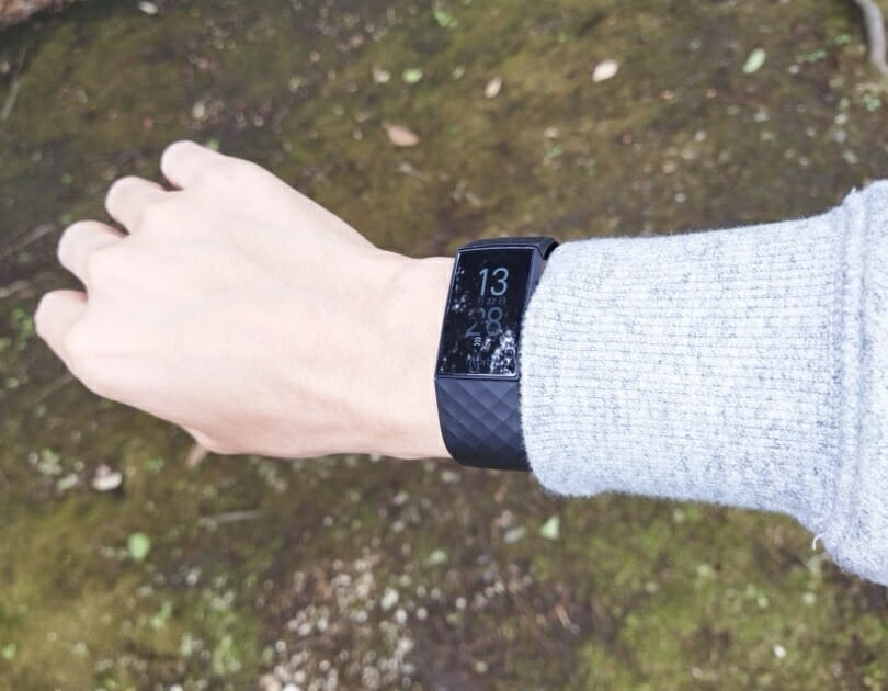 Fitbit Charge 4の屋外視認性