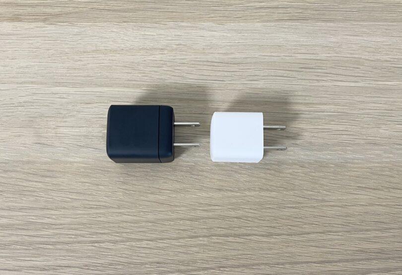 Nano IIとPowerPort III Nanoの比較