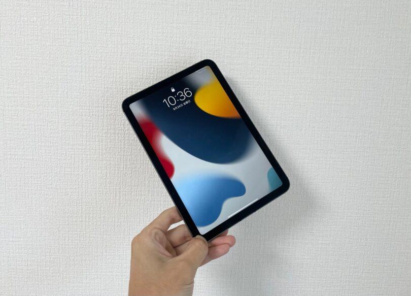 iPad mini6の実機